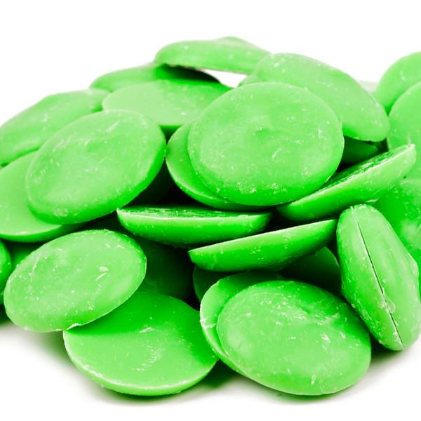 Coating Wafers, Light Green 25lb