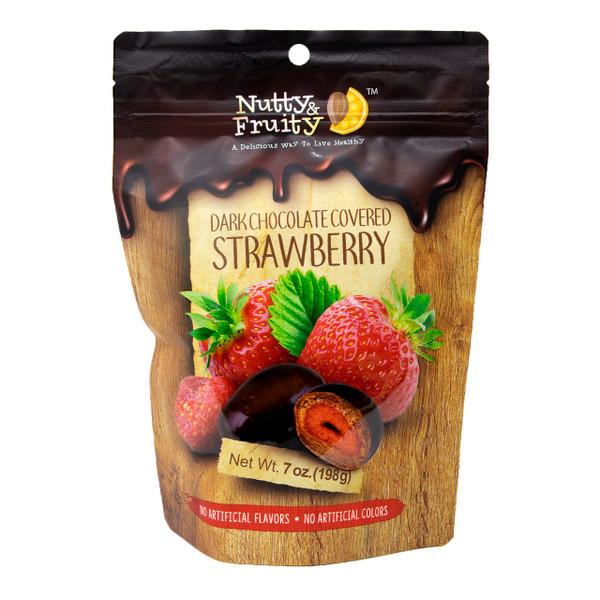 Dark Chocolate Strawberries 8/7oz