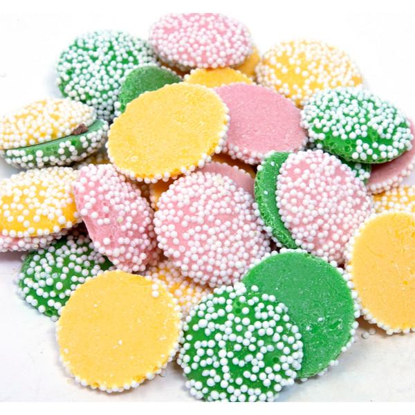 Pastel Mint Nonpareils 20lb