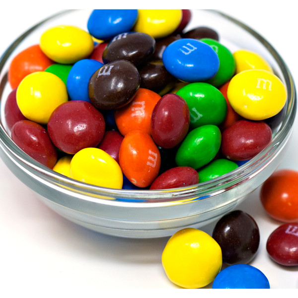 M&M'S Chocolate Candies, Peanut Butter 25lb