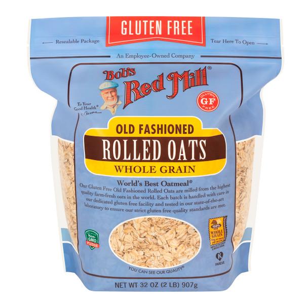 Gluten Free Rolled Oats 4/32oz