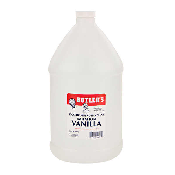 Clear Double Strength Imitation Vanilla 4/1gal