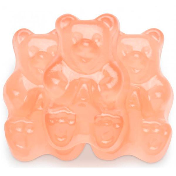 Groovy Pink Grapefruit Gummi Bears 4/5lb