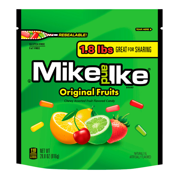 Mike & Ike Stand Up Bag 6/1.8lb
