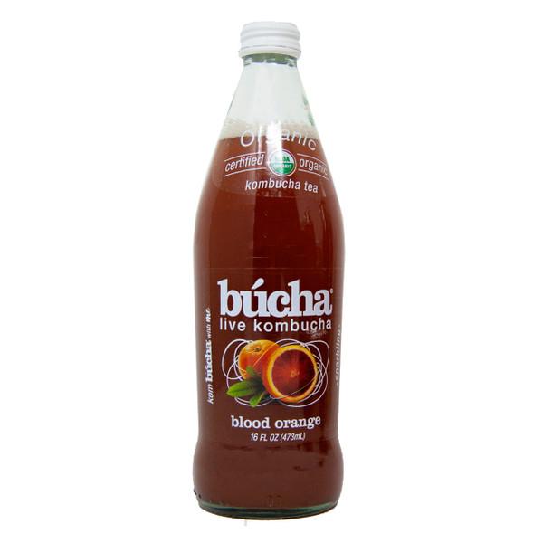 Organic Blood Orange Kombucha 12/16oz