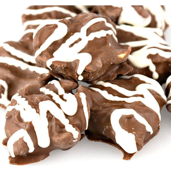 Milk Chocolate Peanut Clusters, No Sugar Added 5lb