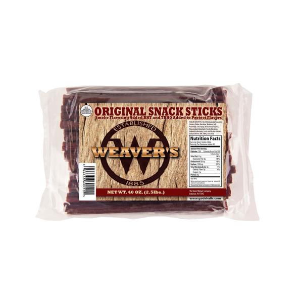 Original Snack Sticks 2/2.5lb
