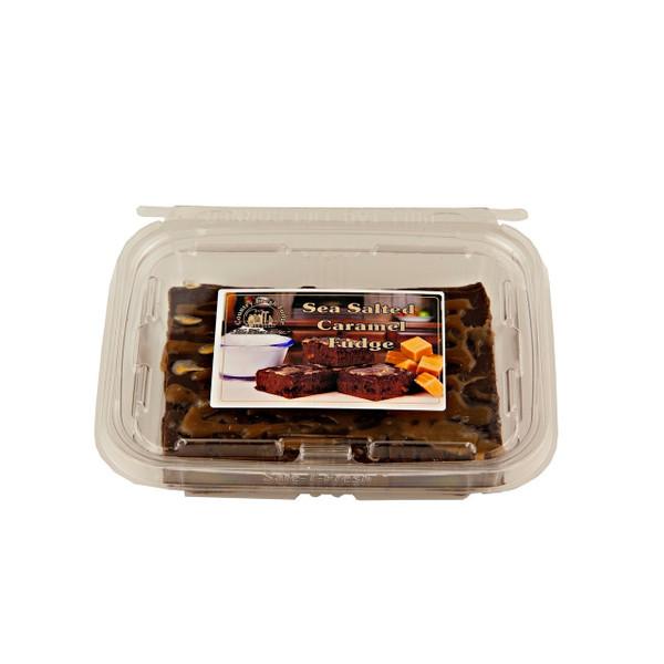 8/12oz Sea Salt Caramel Fudge