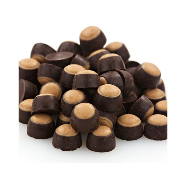 Mini Dark Chocolate Peanut Butter Buckeyes 10lb