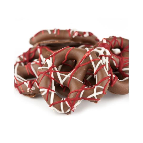 Valentine Chocolate Pretzels 15lb