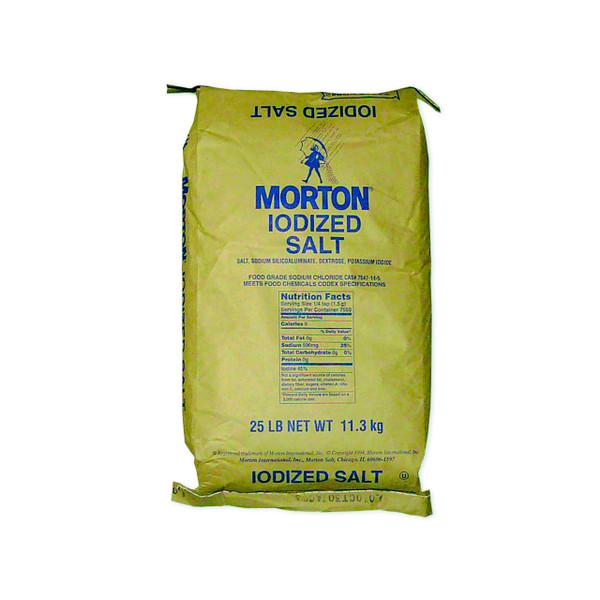 25lb Iodized Table Salt (Morton)