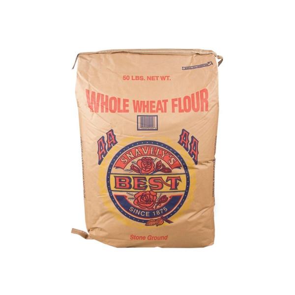 50lb Whole Wheat Flour (Med.)