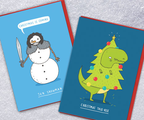 shop sunshine and biscuits xmas cards
