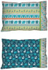 Boho Baby Pillowcase - Blue