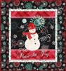 Chalkboard Snowman Wallhanging