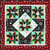 Chalkboard Snowman Block Panel Quilt - Red