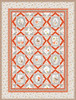 Gentle Forest Quilt-Red