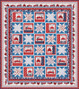 Truckin' In the USA Quilt