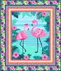 Flamingo Beach Quilt #1