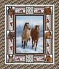 Horse Whisperer Quilt #1     Horse Whisperer