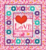 Color My Valentine Quilt #1