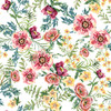 18674-White || 3 Wishes Fabrics Forest  Friends - Girl