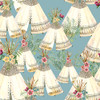 18675-Blue    3 Wishes Fabrics Forest  Friends - Girl