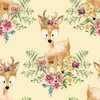 18676-Yellow    3 Wishes Fabrics Forest  Friends - Girl