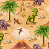 6078-33 Tan    March Of The Dinosaurs