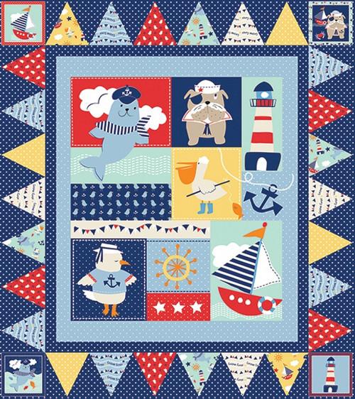 Ahoy Matey Quilt #1