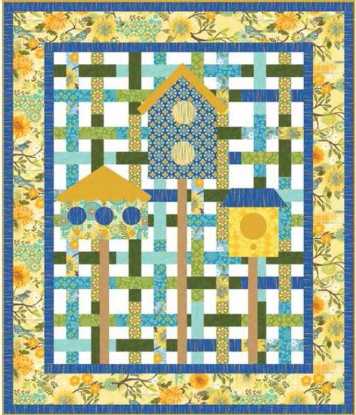 Blue Bird Quilt #1