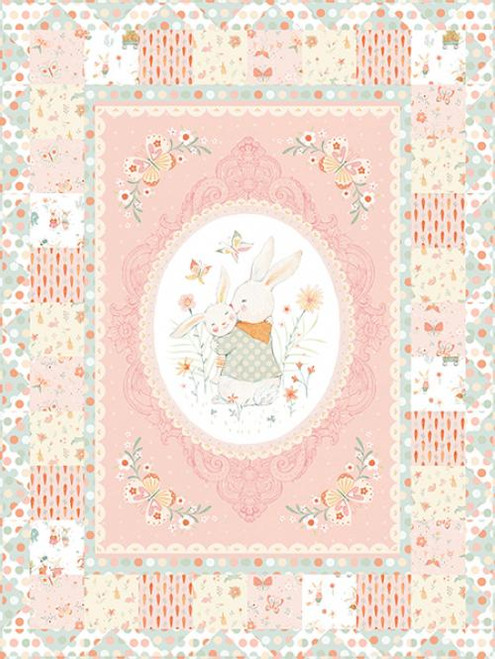 Bunny Tales Flannel Quilt #1