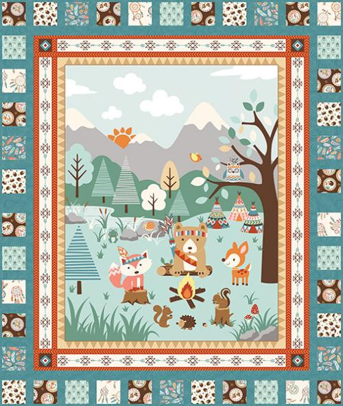 Camp A Long Critters Quilt #1