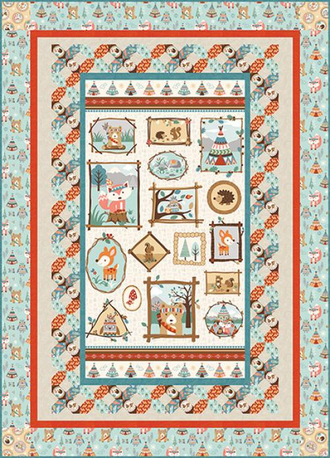 Camp A Long Critters Quilt #2