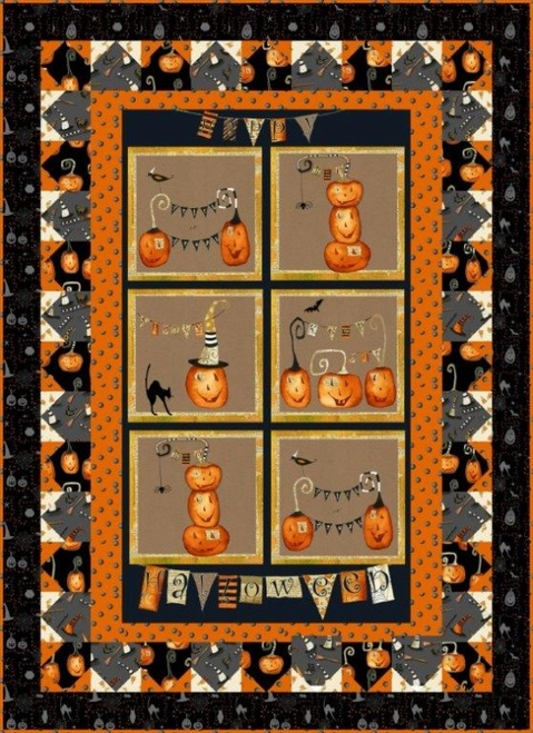 Cheeky Pumpkin Wall Hanging
