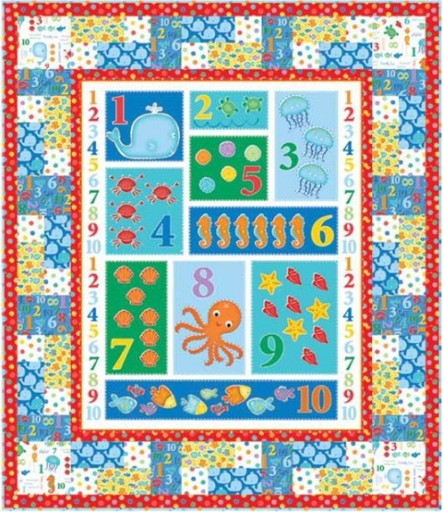 Count with Me Quilt #1