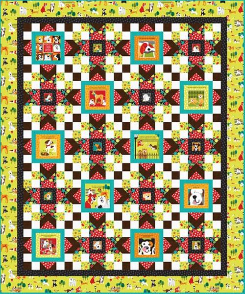 Dog Park Quilt #2