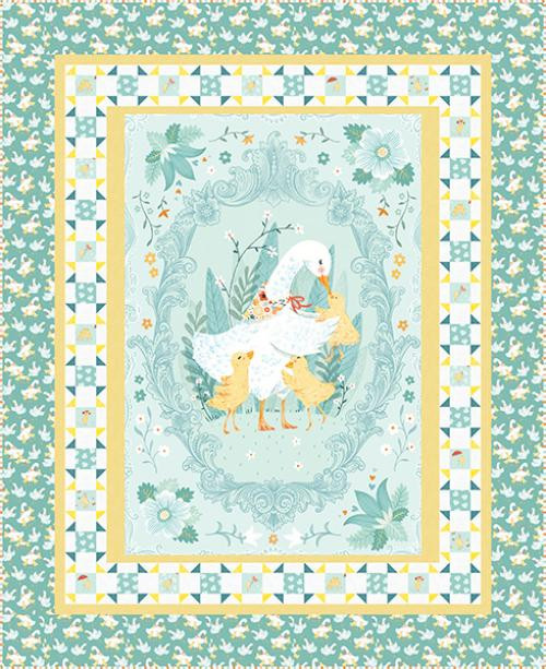 Ducky Tales Quilt #1