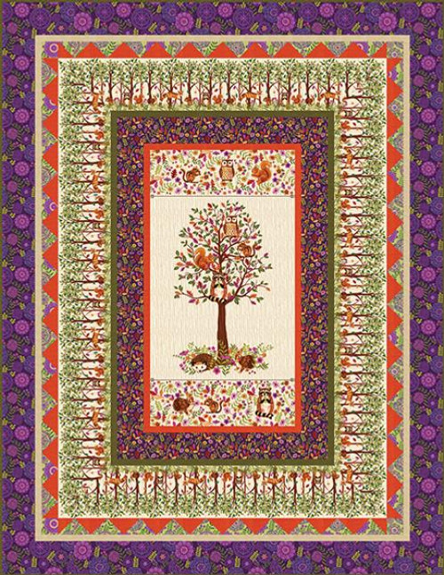 Enchanted Forest Quilt  #1
