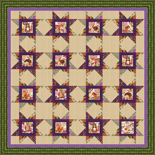 Enchanted Forest Quilt #2