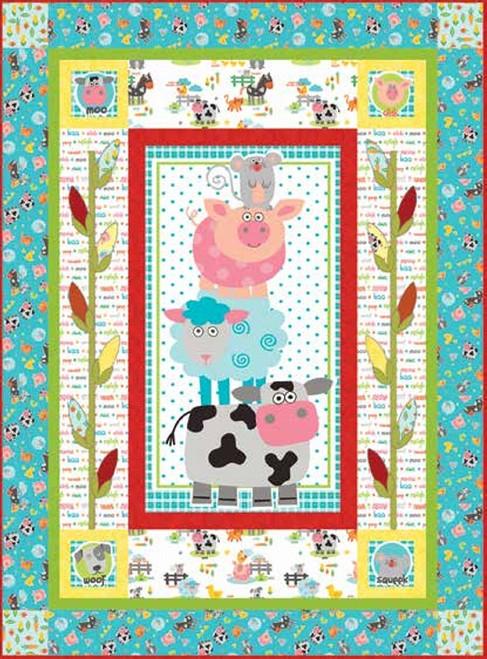 Funny Farm Quilt #1