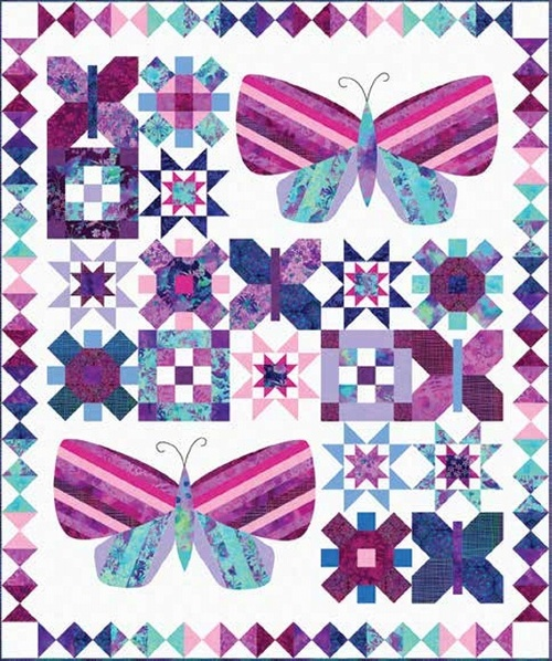 Mariposa Meadow Quilt #1