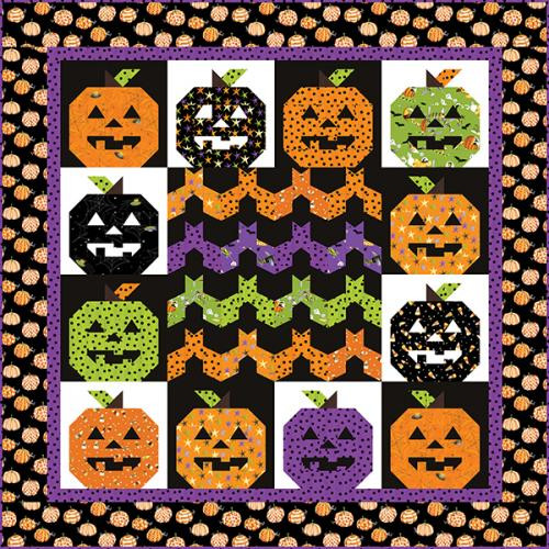 Me and My Ghoul Friends Quilt #1