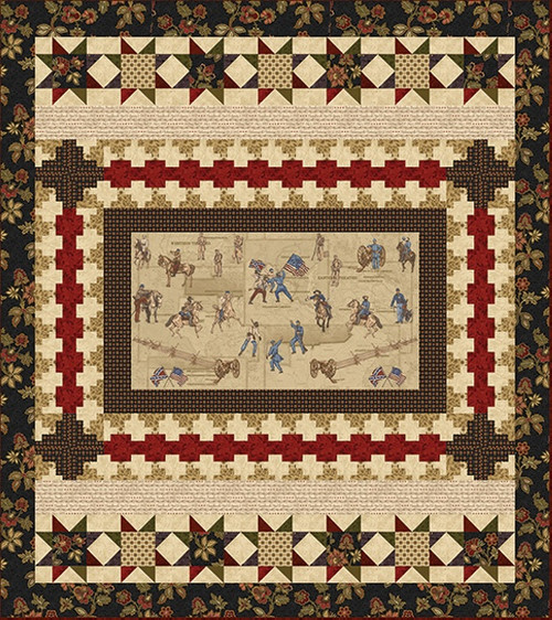 Memories of the Civil War II-Quilt 1