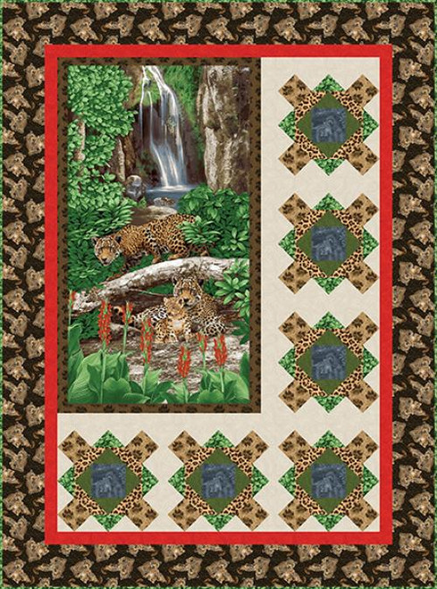 On the Wild Side Quilt #1