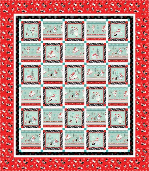 Polar Bear Pirouette Quilt 1