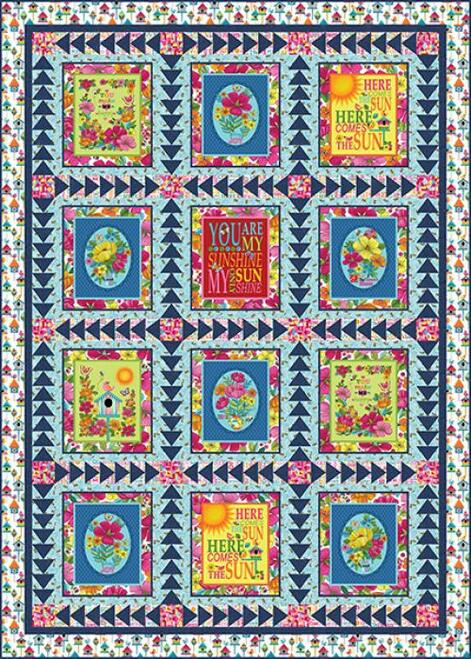 Sunshine Kisses Quilt #1