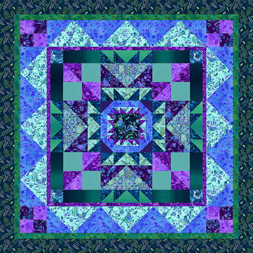 Feather and Flora Quilt #2
