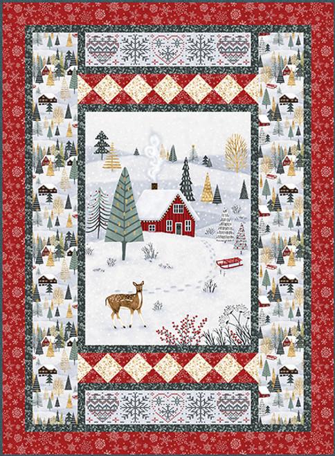 Snowy Magic Quilt #2