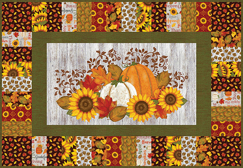 Thankful and Blessed Table Runner, Wall Hanging & Placemats